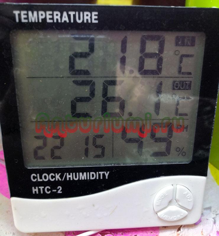 Домашняя метеостанция, прибор для контроля температуры и влажности